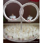 Ronde mand met ringen (huur)