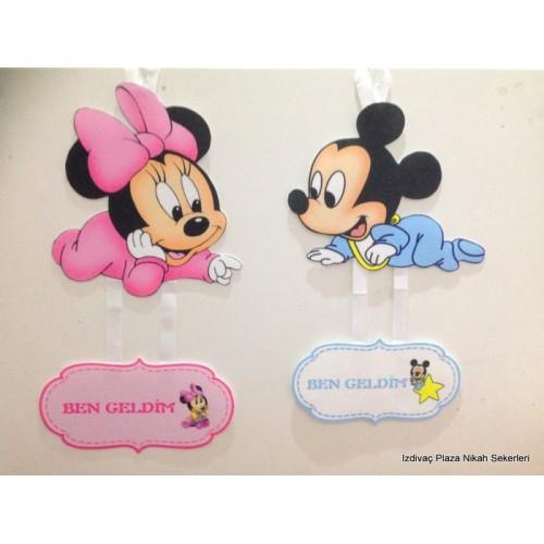 Deur Versiering Minnie Mickey Mouse