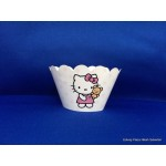 Cup cake houder Hello Kitty (12st)