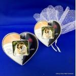 Bruid & Bruidegom fotolijst met magneet
