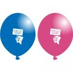 Ballon Eerste tand (10st)